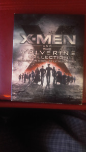 Coffret de X-MEN and the Wolverine Collection En blu-ray