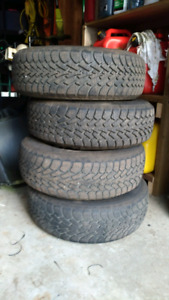 Goodyear Nordic winter tires on 05 caravan rims