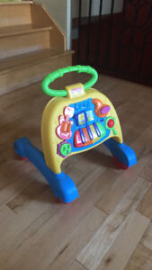 marchette/trotteur musical fisher price