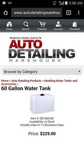 ****60 Gallon Water Tank For Sale!****