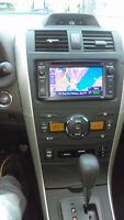 OEM TOYOTA COROLLA DVD-GPS-BACKUP CAMERA INCLUDING INSTALL $660