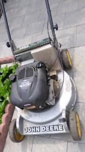 Johndeer 2 speed lawnmower