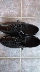 Unisex dance shoes BRAND NEW !!   Black patent