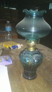 lampe a l'huile , vintage