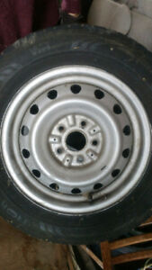 "15"" 5 bolt rims x4. From Toyota Sienna 1999. 205 65 15"