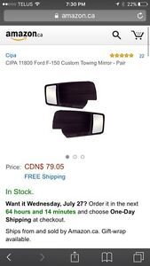F-150 mirror extensions