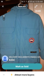 Canada Goose  Parka for sale! 100 Authentic! Size Small!