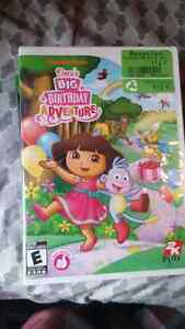 Dora game for the wii Cambridge Kitchener Area image 1