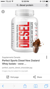Unopened Diesel Protein Powder