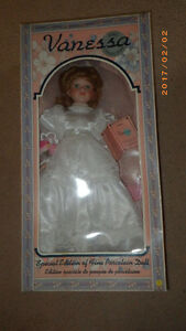 1996 Series- Vanessa Special Edition Wedding Fine Porcelain Doll