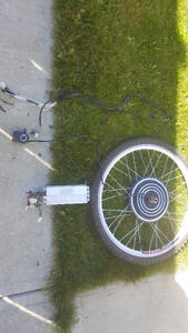 26 inch electric bike complete kit