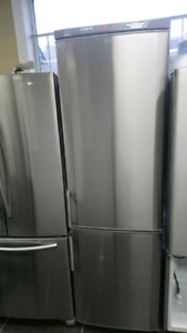 Refrigerateur marque electrolux 24 pouce stainless Steel 475$