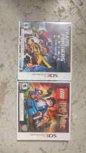 Harry potter lego and transformers prime nintendo 3ds
