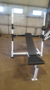 Body Solid Bench press squat shoulder Half rack