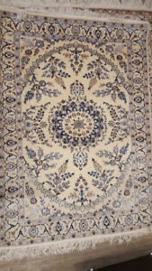 A very specious hand-knotted carpet, 3.15*4.33 ft,