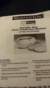 REMINGTON PARAFFIN SPA THERAPY COLLECTION HS-225 Kingston Kingston Area image 3