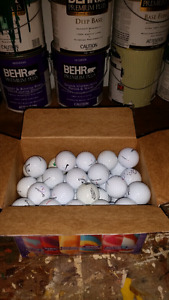 Golf balls for sale. ($20.00, or best offer.)