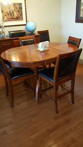 Pub Style Solid wood dining set