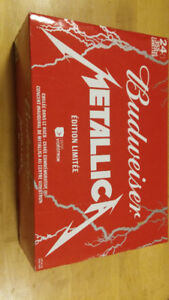 BUDWEISER METALICA (CANETTES 24)