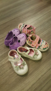 Baby Girl Shoes, 9-12 Months