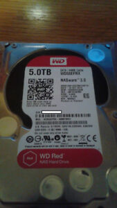 "Western Digital 5TB Internal 3.5"" Hard Drive WD Red Desktop HDD"