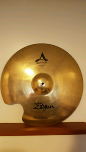 "Zildjian 22"" A Custom Medium Ride - Repaired"