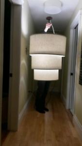 Hanging drum lighting