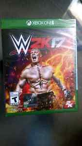 Xbox one WWE 2K17 brand new and sealed