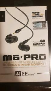 Musicians In Ear Monitors - M6 PRO BNIB