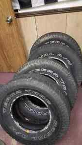 Used suv/truck tires
