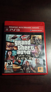 Grand Theft Auto IV : Episodes From Liberty City (PS3)