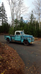 FOR SALE 1950 CHEV HALF TON