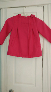 Old navy pink peacoat