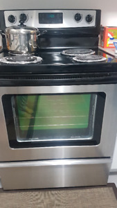 Whirlpool Electric Range & Dryer