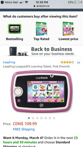 Leap pad 3X French