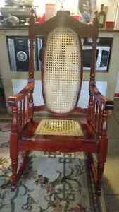 Antique Hand Made Rocking Chair