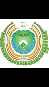 4 Jays Tickets seats together