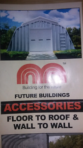 Future steel building X model