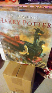 NEW Harry Potter Illustrated Box Set Hardcover