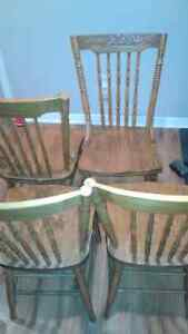 4 chairs antique  Cornwall Ontario image 1