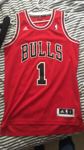 Derrick Rose Chicago Bulls Home Jersey Small