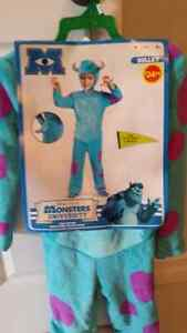 Kids Sulley Costume Size 4-6