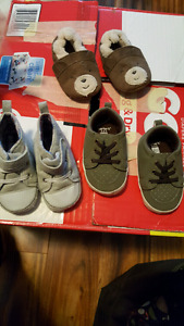 Baby shoes, hats, socks