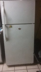 White Kenmore Fridge in Perfect Condition