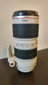 Canon 70-200mm 2.8 zoom lens ( ultrasonic ) (IS)