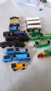 @  Thomas and friends wooden trains