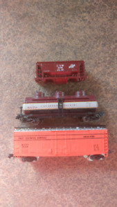 N Scale Freight Cars Mixed
