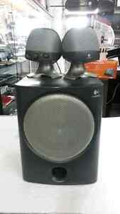 Computer speaker for sale. We sell used home audio equipment.