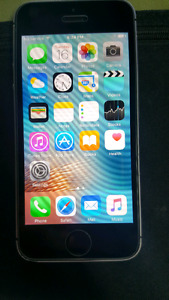 Iphone SE with sasktel 210.00
