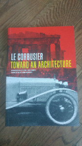 Le Corbusier textbook- toward an architecture - New